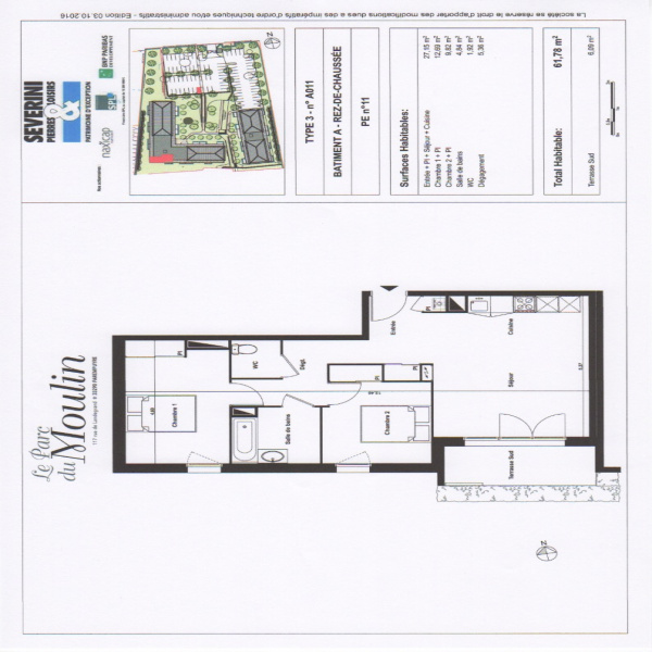 Programme neuf Appartement Parempuyre 33290